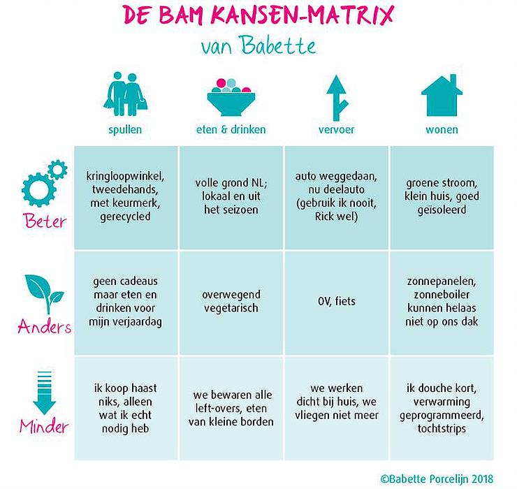 BAM-matrix